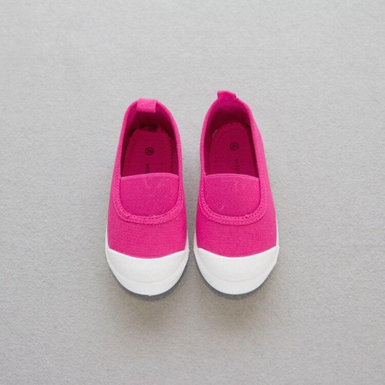 61e839ba6 Branco gym shoes 2017 nova primavera crianças shoes sapatas de lona dos  miúdos tênis branco shoes meninos meninas doce cor crianças tênis de lona