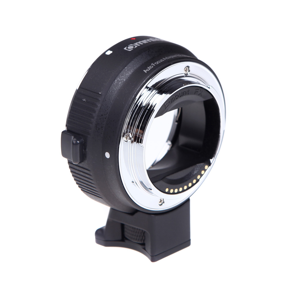 Commlite Auto-focus Mount Adapter EF-NEX for Canon EF//EF-S Lens to Sony NEX with IS Exact Exposure
