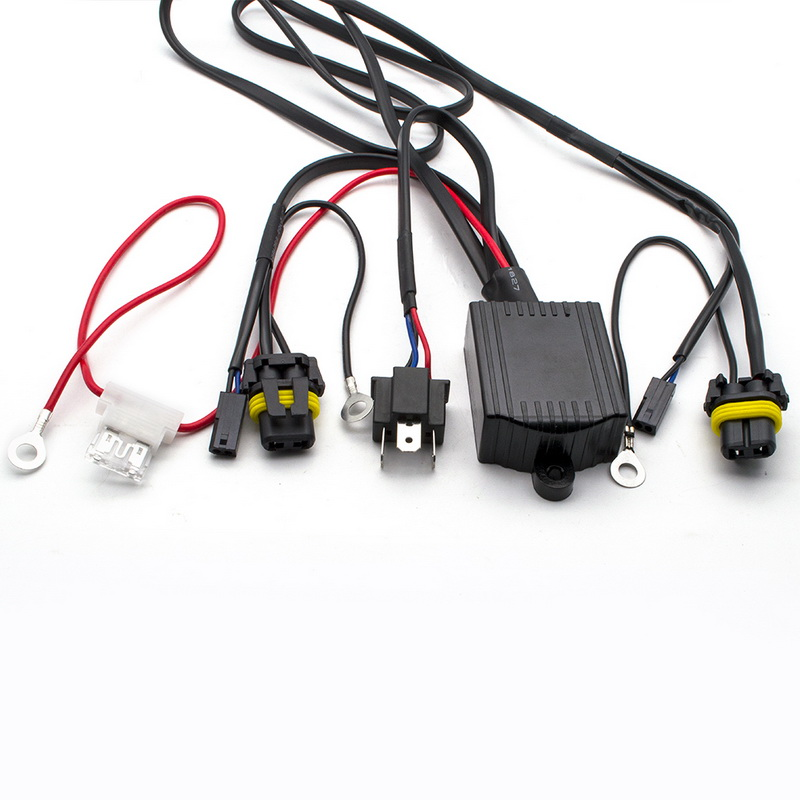 Sao 1X Relay Wire Harness for Car HID Bi-xenon Headlight Bulbs Conversion H Hid Relay Wiring on