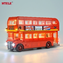 MTELE Led Light Up Kit For Creator London Bus Lighting Set Compatible With 10258 (NOT Include The Model)