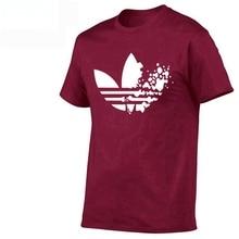 Cotton casual LOGO printing men's T-shirt