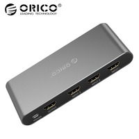 ORICO Aluminum 3 Port HDMI Switch Splitter 4K HDMI 2.0 Switcher HDMI Splitter for PC Laptop XBOX 360 PS3 PS4 TV STB Projector
