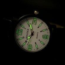 Повседневное минтай Подсветка большой циферблат спортивные Водонепроницаемый Открытый кожаные Наручные часы для Для мужчин Для женщин молодых op001