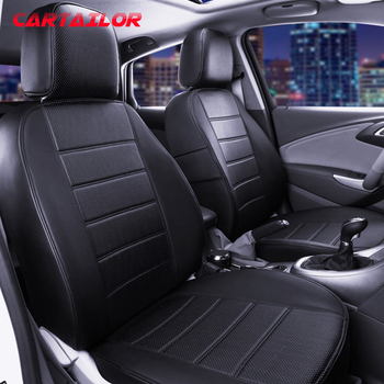 CARTAILOR Automobiles Seat Covers & Supports for Ford Ranger Car Seat Cover Set PVC Cars Seats Interior Accessories Auto Cushion