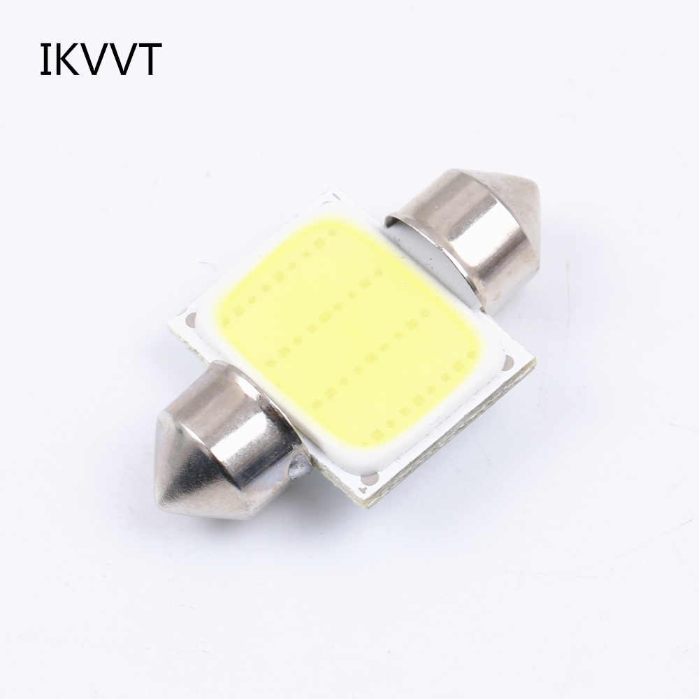 31mm 36mm 39mm 41mm Festoon car COB LED Bulb C5W C10W Car Dome reading Map Light Auto Lamp Bulb DC12V White car-styling