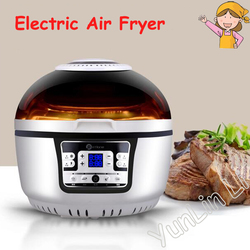 10L Air Fryer Home Light Oven Intelligent Large Capacity Multi-functional Electric Frying Pan Oil-free Frying Machine HA-01A