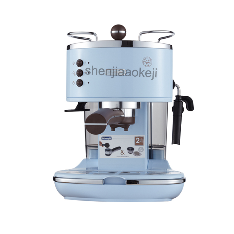 semi-automatic Italian coffee machine pump type coffee machine Manual fancy coffee 220V (50Hz) 1100W 1pc semi automatic italian coffee machine pump type coffee machine manual fancy coffee 220v 50hz 1100w 1pc