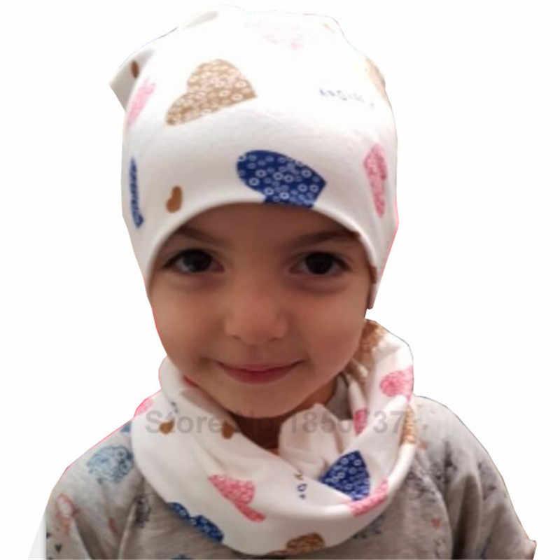 6297d9b9 ... Gorros de bebé para niñas con estampado de dibujos animados niños  sombrero bebé niño algodón niños ...