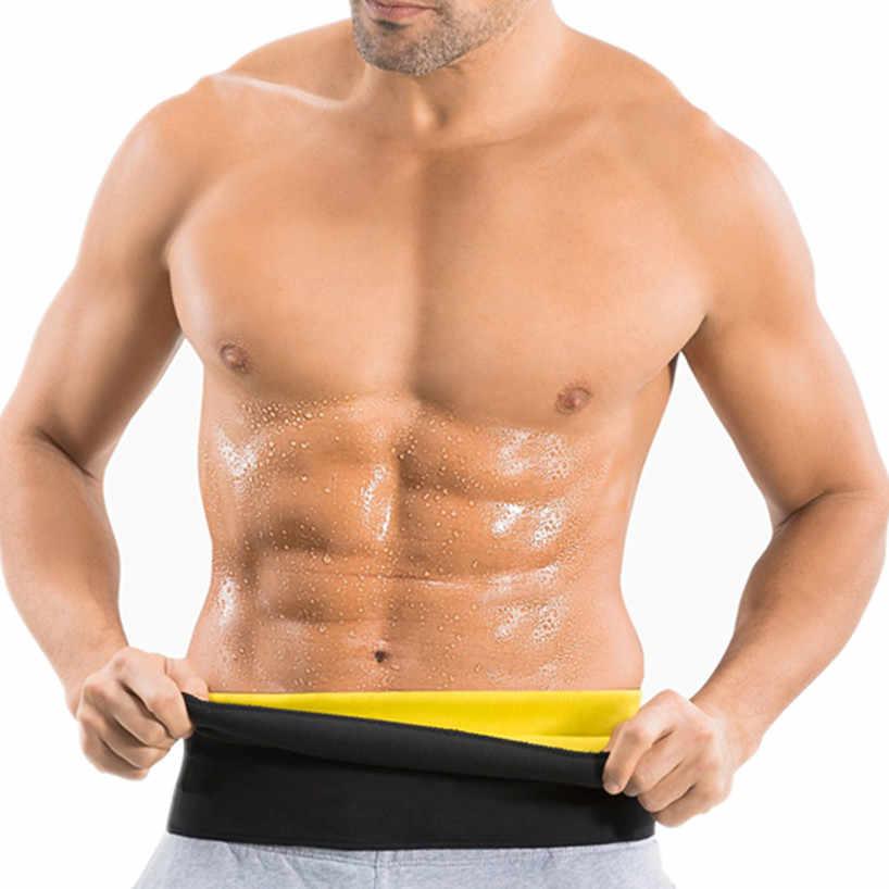 f6d2eb885e5d9 Hot New Fashion Designer Belts Men Neoprene Fitness Exercise Workout Belt  Hot Sweat Compression Body Slimming
