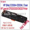 Тонер-картридж для принтера HP CP2020 CP2025 CM2320 CP2025n CP2025x CP2025dn CM2320n CM2320nf  CC530A CC531A CC532A CC533A 304A