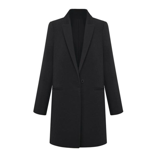 cafec3d084b1d Femmes LAINE Cachemire Long Manteau D hiver Tranchée Blazer Costume Veste