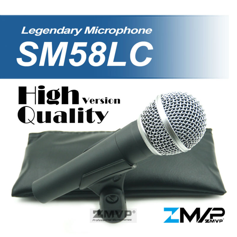 Free Shipping! High Quality Version SM 58 58LC SM58LC Wired Vocal Karaoke Handheld Dynamic Microphone Microfone microfono Mic  free shipping high quality version sm 58 58lc sm58lc wired vocal karaoke handheld dynamic microphone microfone microfono mic