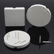 Квадратные/круглые сотовые лотки металлические булавки/циркониевые шпильки для стоматологической лаборатории