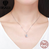 100 Authentic 925 Sterling Silver Declaration Of Personality Funny Gesture Necklaces Pendants Sterling Silver Jewelry HSC314