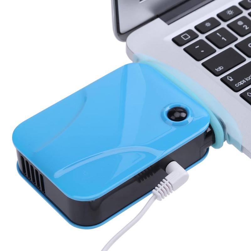ALLOYSEED Portable Exhaust Laptop Cooler USB Notebook Fan Radiator Ultra Silent Cooling Fan for 14 15 17 inch Notebook laptop fan store adda ab04505 mx850300 notebook fan
