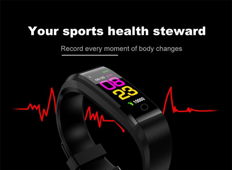 HTB1.DeVE1SSBuNjy0Flq6zBpVXaE LIGE New Smart Watch Men Women Heart Rate Monitor Blood Pressure Fitness Tracker Smartwatch Sport Smart Bracelet for ios android