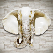 European elephant head hanging the living room wall decor background walls decorated wall ornaments animal head pendant