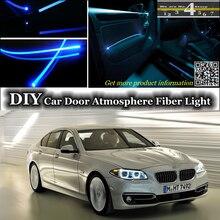 interior Ambient Light Tuning Atmosphere Fiber Optic Band Lights For BMW 5 M5 F10 F11 F07 Door Panel illumination (Not EL light)