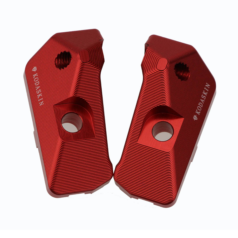 KODASKIN Left Right Swingarm Swing Arm Spool Slider Adapters Mounts For Yamaha YZF R3 R25 2013 2014 2015 2016 in Key Rings from Automobiles Motorcycles
