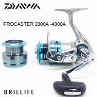 Daiwa Spinning Fishing Reel Original Daiwa PROCASTER 2000A 4000A Series 7BB Saltwater Casting Metal Spinning Reel