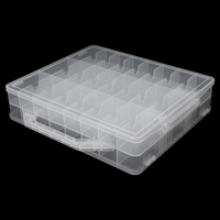 Pro 48 Lattice Nail Polish Holder Display Container Organizer Storage Box Case