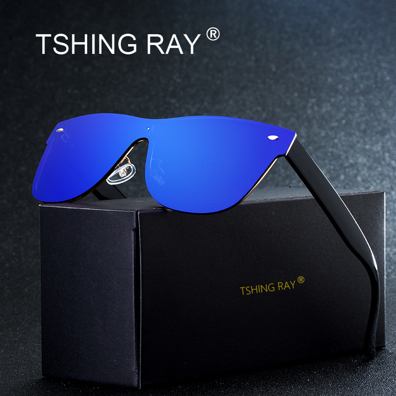 TSHING RAY Fashion Rimless Square Driving Sunglasse