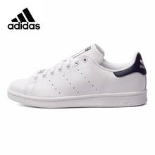 c4931ad7b Adidas Originals Men's Stan Smith Skateboarding Shoes,Authentic Black Logo  Sneakers Classique Shoes Platform Breathable