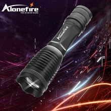 AloneFire E007 powerful CREE XM-L T6 led zoom flashlight torches outdoor t6 led zoomable flashlight Tactical light