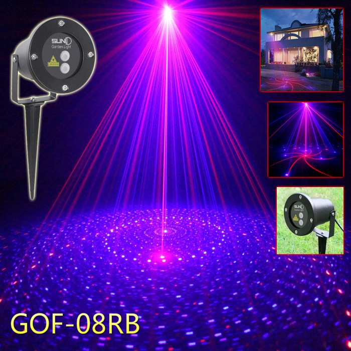Christmas laser light with remote control function,RED&Blue laser remote control outdoor mini laser light laser head owx8060 owy8075 onp8170