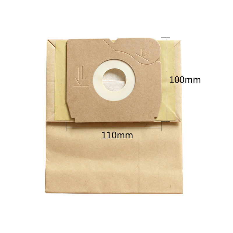 11x10cm Universal Vacuum Cleaner Bags Disposable Paper Dust Bags Replacements Bags For Philips Electrolux LG Haier Samsung Etc