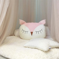 Explosions Owl Pillow Baby Sleeping Comfort Pacifier Cotton Pillow Plush Toys Children's Room Decorations Photography Props