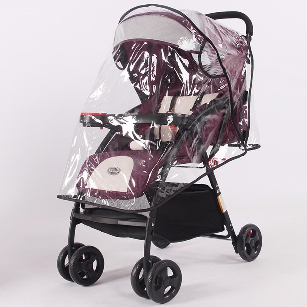 Waterproof Baby Strollers Pushchairs Rain Cover Wind Dust Shield Universal
