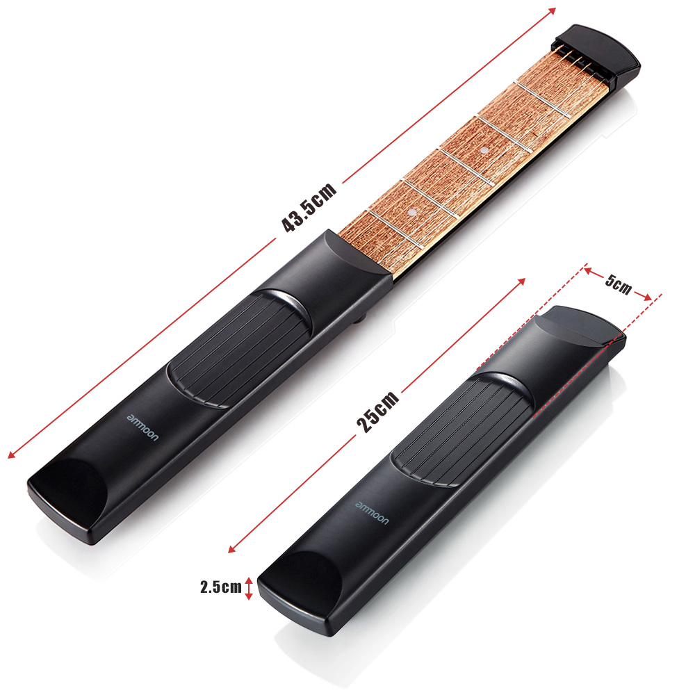 High Quality Ammoon Portable Pocket Acoustic Guitar Practice Tool