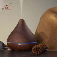 GX.Diffuser Portable Air Ultrasonic Humidifier Aroma Diffuser Ultrasonic Aromatherapy Diffuser Car 7 Colors LED Light Mist Maker