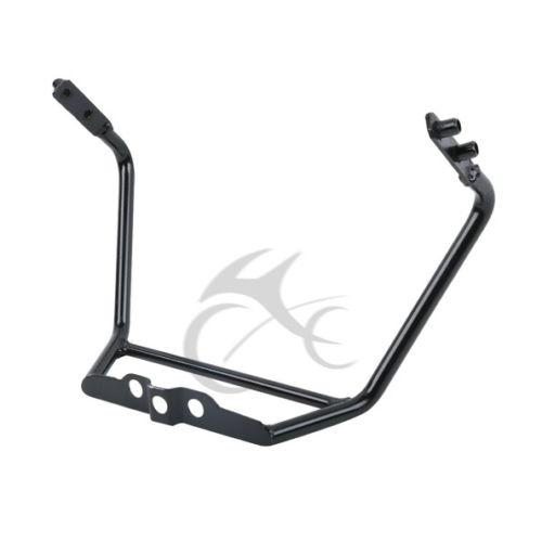 Upper Front Fairing Bracket Mirror Stay For HONDA CBR250 CBR250RR MC19 1988-1989 Black