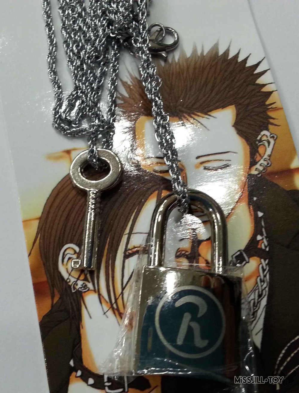 2 шт./компл. аниме Ai Yazawa; NANA lover's ключ и замок Сплав Модные металлические подвесные аксессуары для косплея Горячая cos ожерелья