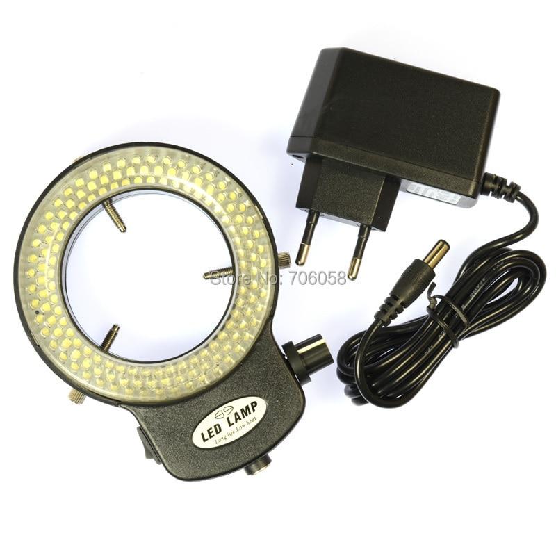 Állítható 6500K144 LED gyűrűs világító lámpa ipari sztereo - Mérőműszerek - Fénykép 6