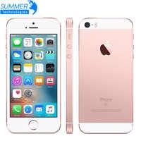 "Original Apple iPhone SE desbloqueado teléfono móvil A9 Dual Core 2 GB RAM/16/64 GB ROM 4,0"" 12MP huella dactilar 4G LTE Smartphone"