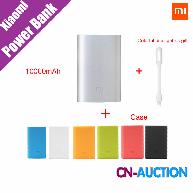 Original Xiaomi Mi Power Bank 10000mAh External Battery Portable Mobile Power Bank MI Charger 10000mAh for