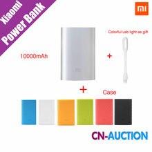 Original Xiaomi Mi Power Bank 10000mAh External Battery  New Portable Mobile Power Bank MI Charger 10000mAh for Phones,Pad,MP3