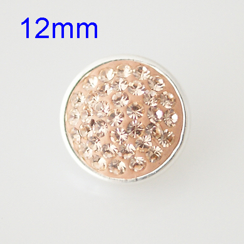 product Rhinestone snap 12 mm button for ginger snap button bracelet button jewelry from www partnerbeads com CS0017-S