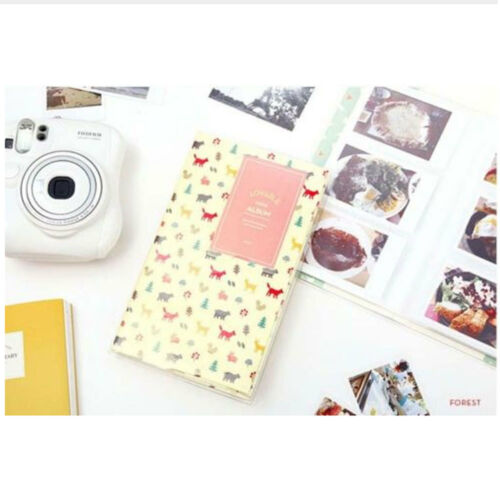 Hot 84 Pockets 1Pcs Mini Film Instax Polaroid Album Photo Storage Case Fashion Home Family Friends Saving Memory Souvenir in Photo Albums from Home Garden