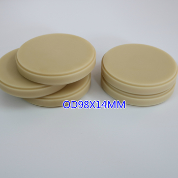 Wholesale 10 Pieces Teeth Denture Material Dental PMMA Block Wieland Cad Cam Open System PMMA Disc Blank 98 16mm medical grade cad cam material peek pucks poly ether ether ketone polymer disc dentistry peek
