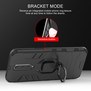 Image 4 - Luxury Armor For Xiaomi Pocophone F1 Case Shockproof PC+TPU Protective Back Cover For Poco F1 Case Magnetic Holder Ring Bracket