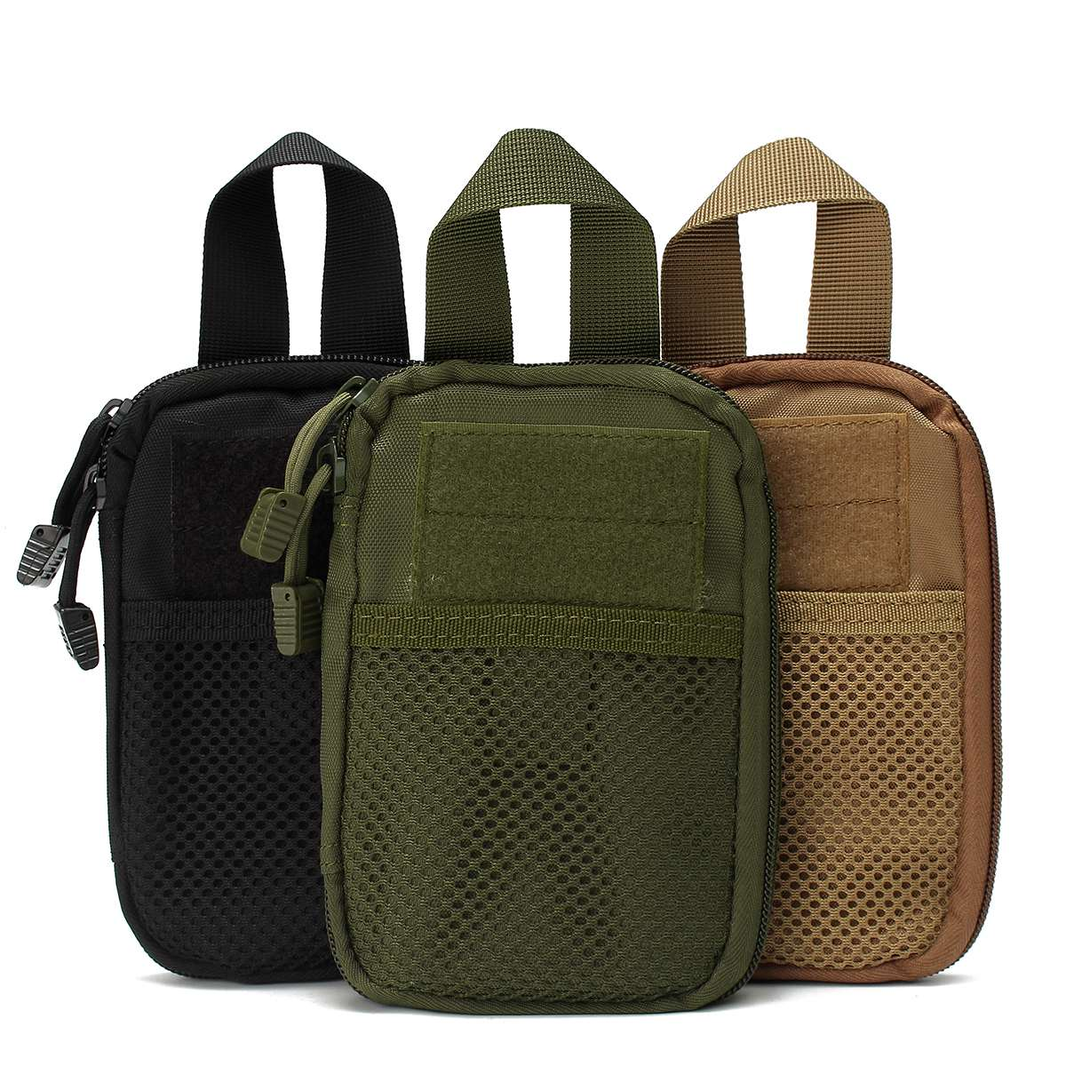 Safurance Tactical Molle Waist Pack Medical First Aid Utility Pouch Emergency Bag Security Safety Treatment Pack first aid bag only molle medical emt cover outdoor emergency military program ifak package travel hunting utility pouch j2