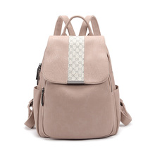 Real Leather Women Backpack Ladies Anti-theft School Bag for Girls Daily Back Pack High Quality Female Retro Shoulder Bag