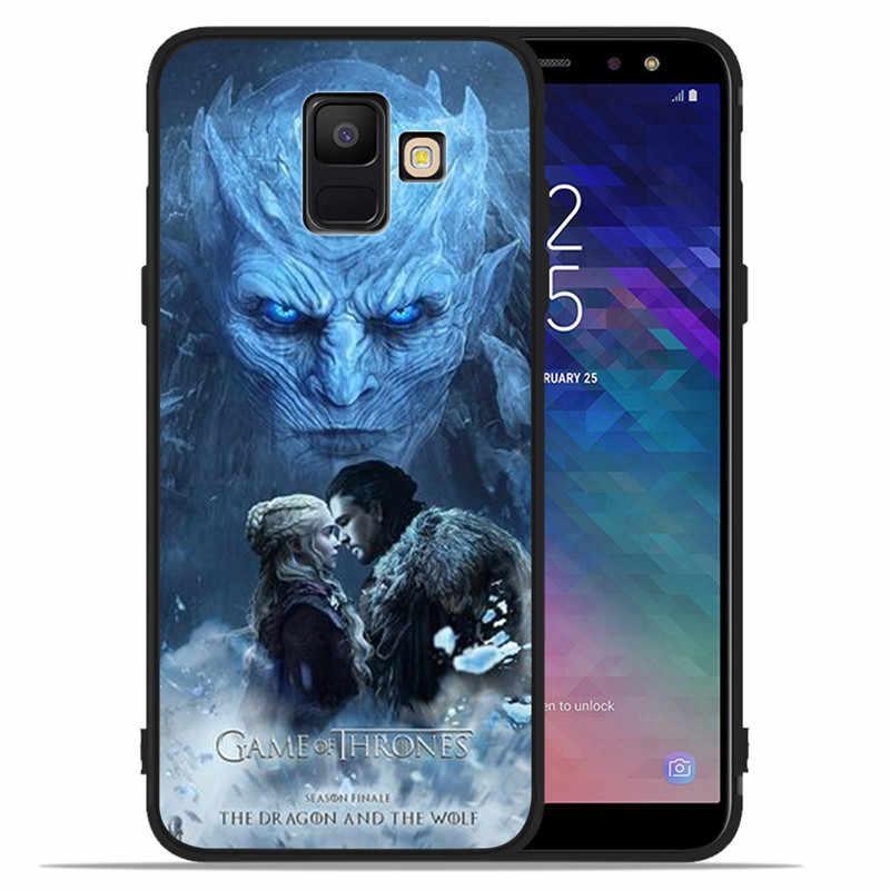 Game Of Thrones Daenerys Rồng Jon Dành Cho Samsung Galaxy Samsung Galaxy A9 A8 A7 A6 A5 A3 J3 J4 J5 J6 J8 Plus 2017 2018 Ốp Lưng điện thoại Nắp Coque Etui