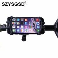 SZYSGSD Bike Mount Universal Cell Phone Bicycle Rack Handlebar Motorcycle Holder Cradle For IPhone 7 Plus