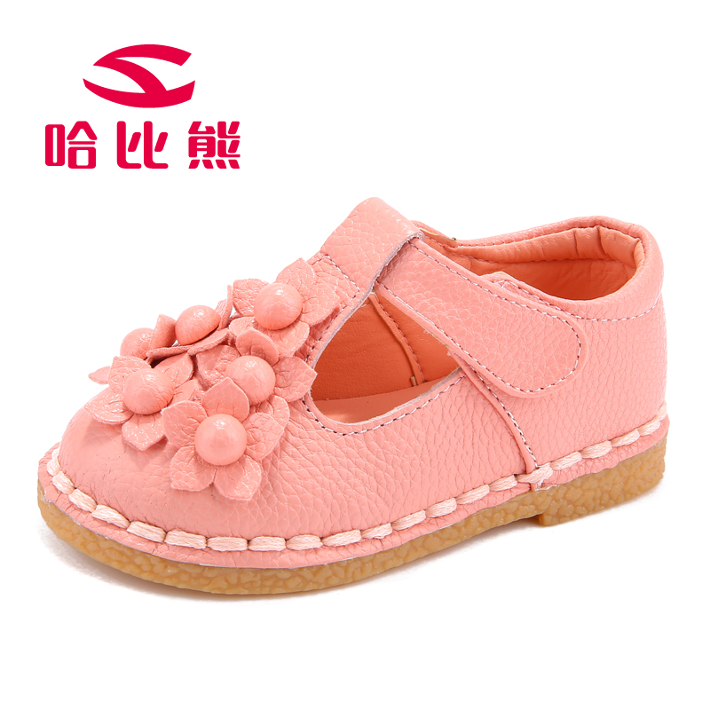 Online Shop HOBIBEAR GS2021 baby girls shoes toddler leather shoes ...