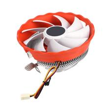 Universal 3Pin Fan CPU Cooler Heatsink 1800 RPM Desktop Computer Components Cooling Fans Radiator Cooler For PC Desktop Computer
